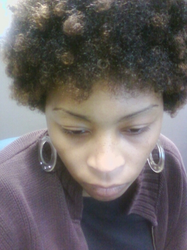 a yr and 1 month after big chop - Brunette, 4a, Short hair styles, Medium hair styles, Kinky hair, Afro, Readers, Female Hairstyle Picture