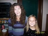 Me and my grand daughter - Brunette, 3a, Mature hair, Medium hair styles, Readers, Curly hair Hairstyle Picture