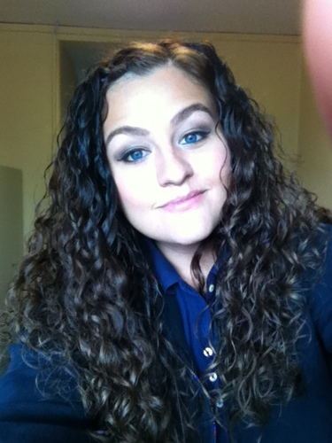 Massive curls! - Brunette, Female, Adult hair Hairstyle Picture