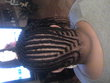 Cornrow Design by me