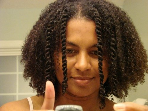 3 years since BC & LOVIN` It! - Brunette, 3c, Medium hair styles, Kinky hair, Twist hairstyles, Braids, Readers, Female, Adult hair, Twist out Hairstyle Picture