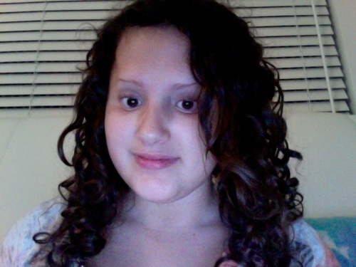 curls4school - Brunette, 3b, Medium hair styles, Readers, Female, Teen hair, Spiral curls Hairstyle Picture