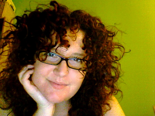 Loving my new cut! - Redhead, 3b, Medium hair styles, Readers, Female, Curly hair Hairstyle Picture