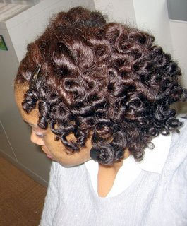 Bantu Knot-Out - Brunette, Medium hair styles, Styles, Female, Adult hair, Bantu knot out Hairstyle Picture