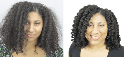 Richeau's Makeover by Curl Junki - Brunette, Long hair styles, Female, Curly hair, Makeovers Hairstyle Picture