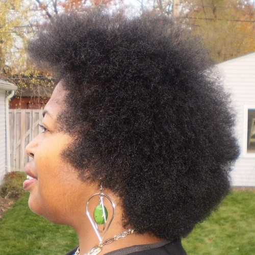 6 month 1 week update Afro - Brunette, 4a, Medium hair styles, Afro, Readers, Female Hairstyle Picture