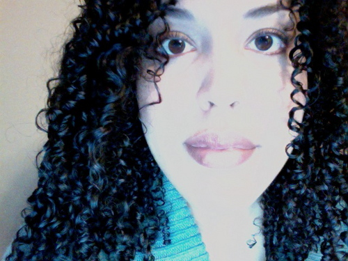 Just me :) - 3b, 3c, Long hair styles, Readers, Female, Curly hair, Black hair, Adult hair, Layered hairstyles Hairstyle Picture
