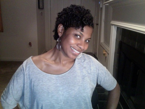 my best wash and go ever - 3c, 4a, Short hair styles, Kinky hair, Female, Curly hair, Black hair, Natural Hair Celebration, Textured Tales from the Street Hairstyle Picture