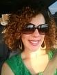 Curly hair in the sun