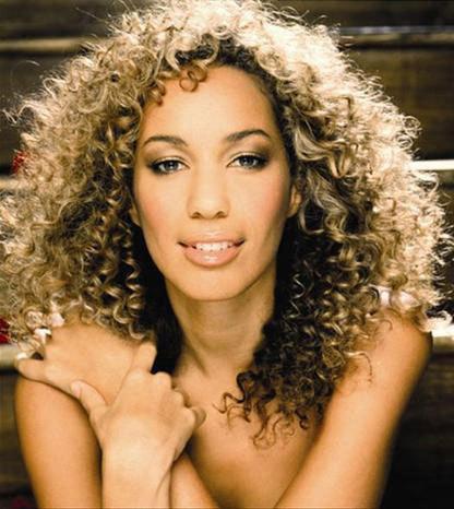 leona lewis curly hair - photo #5