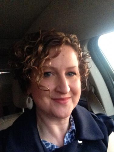 Short Blonde Highlight Car Selfie By Cursetee
